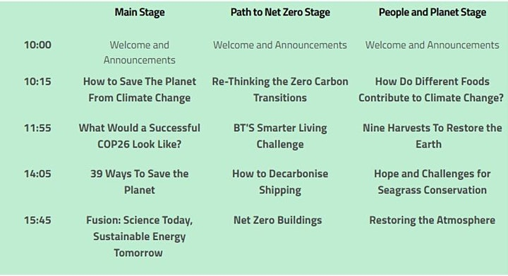 Creating a sustainable  Future image