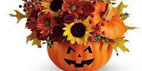 DIY Spooky Pumpkin tickets
