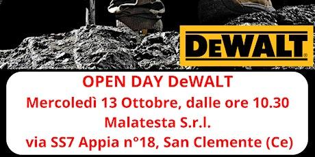 OPEN DAY DEWALT Malatesta S.r.l. tickets
