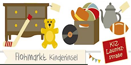 Flohmarkt Kinderinsel - Launitzstrasse Frankfurt - 30. Oktober 2021 Tickets