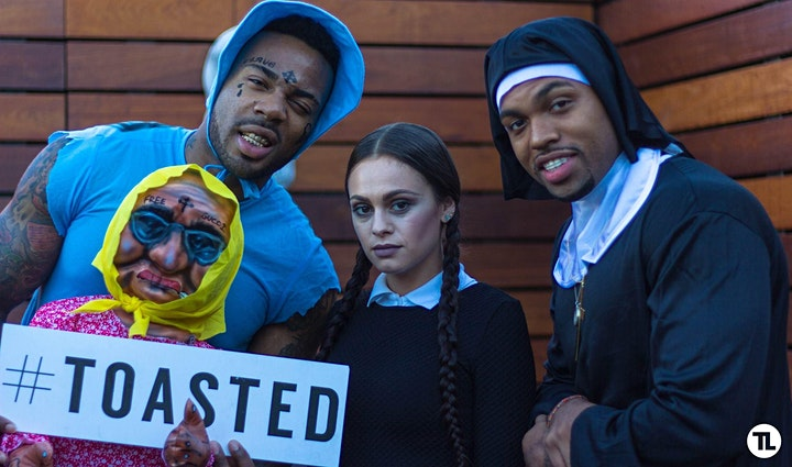 TOASTED LIFE x HALLOWEEN COSTUME DAY PARTY image