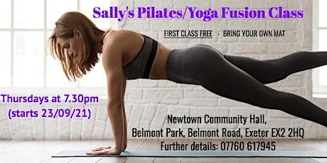 Pi Singles  Pilates/Yoga Fusion Class tickets