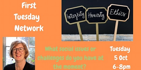 October First Tuesday: What social issues or challenges do you have? tickets