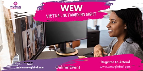 WEW Global Networking Night (Virtual Event) tickets