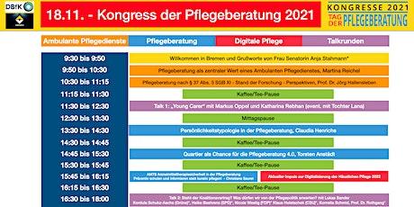 18.11. - Kongress der Pflegeberatung 2021 Tickets