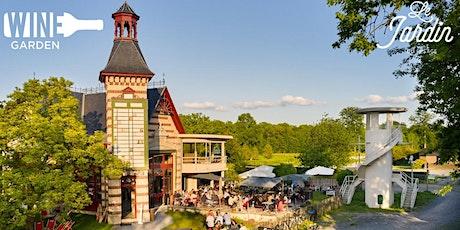 Wine Garden au Jardin du Pesage / New Pop up Wine Bar / this friday 01.10 billets