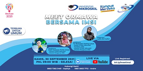 Meet Ormawa Mikroskil: Meet with IMSI tickets