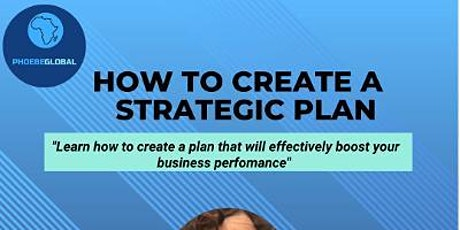 How to Create a Strategic Plan in 1 Hour tickets