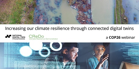 Increasing ourclimateresilience through connected digital twins tickets