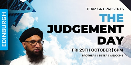 The Judgement Day with Shaykh Zahir Mahmood | Edinburgh tickets