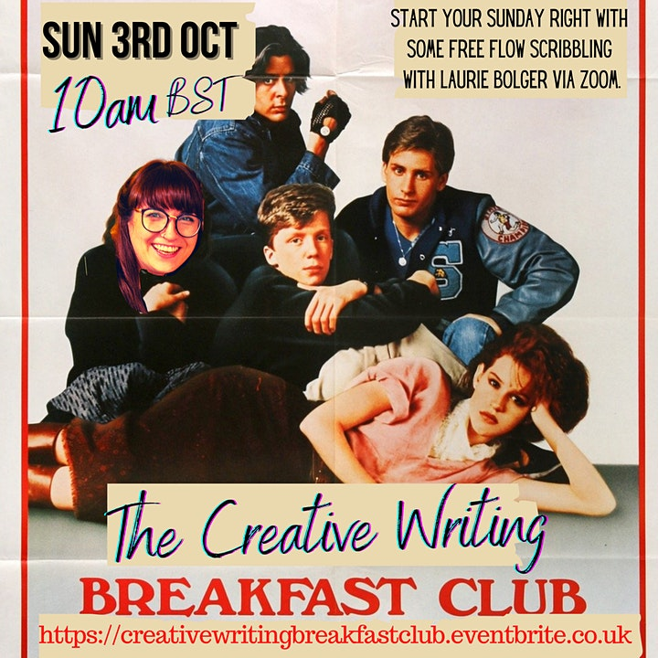 The Creative Writing Breakfast Club Sunday 3rd October 2021 image