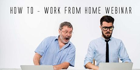 Work From Home  Opportunity - Webinar tickets