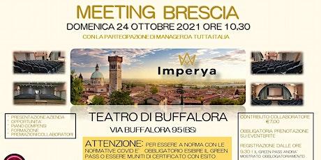 IMPERYA LIVE A BRESCIA 24 OTTOBRE 2021 biglietti