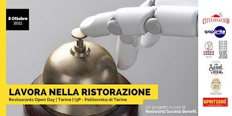 Restaurants Open Day in Turin - Hosted by Restworld biglietti