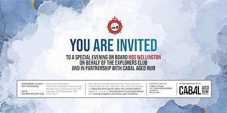 Explorers Club at HQS Wellington November 2021 tickets