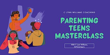 Parenting Teens Masterclass tickets