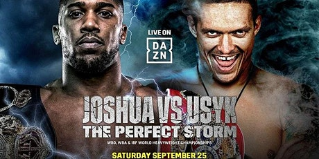 ONLINE@!.Joshua V Usyk FIGHT LIVE ON 25 SEP 2021 tickets