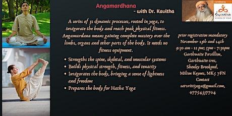 Angamardhana - Isha hatha yoga - Workshop - 2 Days tickets