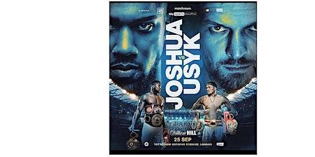 StREAMS@>! (LIVE)-Joshua V Usyk FIGHT LIVE ON 25 SEP 2021 tickets