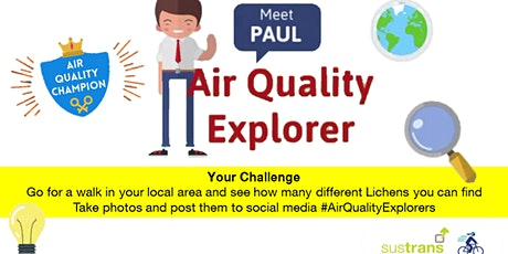 Air Quality Explorers - Sustrans / South Downs National Park tickets