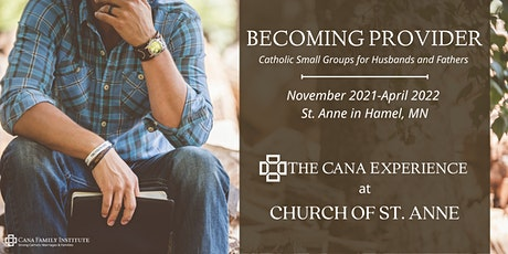 Becoming Provider - Church of St. Anne tickets