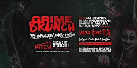 Grime Brunch - Halloween Party tickets