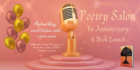 Poetry Salon 1st Anniversary tickets