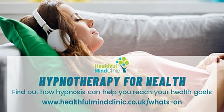 Hypnotherapy for Health - How to help your health with hypnosis tickets