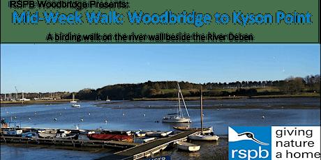 Mid-Week Walk: Woodbridge to Kyson Point tickets