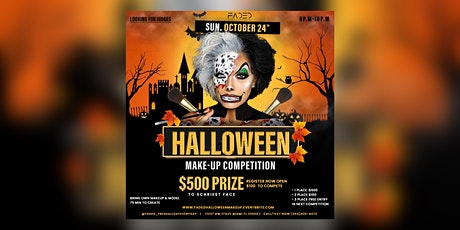 Halloween Make Up Competition  for $500 tickets