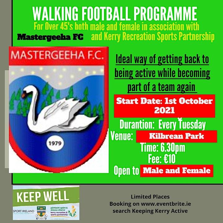 Keeping Kerry Active - Walking Football II (Mastergeeha FC) image