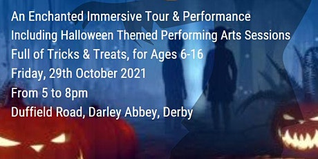 Halloween Fright Night Event for Children 6-16 Years Old tickets