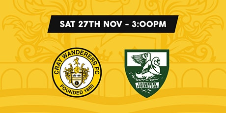 Cray Wanderers VS Leatherhead tickets