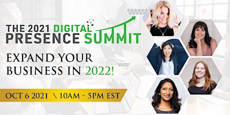 The Digital Presence Summit 2021 tickets