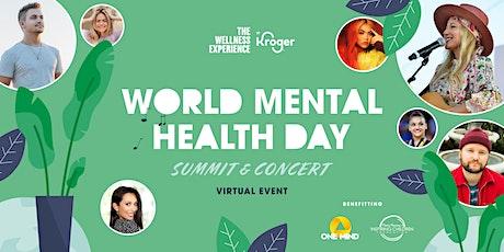 World Mental Health Day Summit & Concert tickets