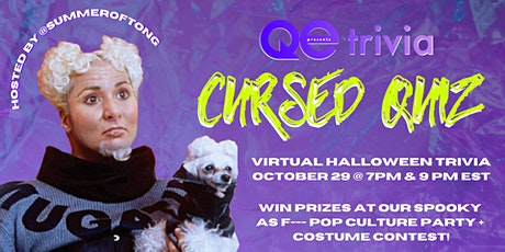 Absolutely Quizzled by QE Trivia | Last Fridays Virtual Pre-Drink Party tickets