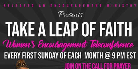 Take A Leap of Faith Women's Teleconference tickets