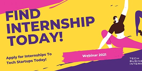 Apply at Internships 2021 tickets
