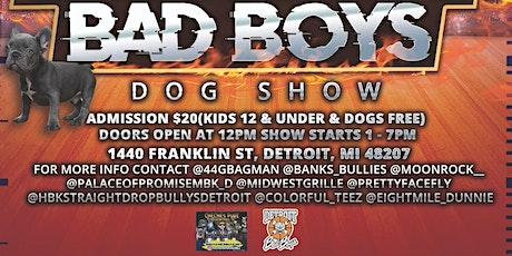 Detroit Bad Boys Vol #1 tickets