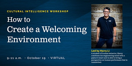 Cultural Intelligence Workshop: How to Create a Welcoming Enviroment tickets