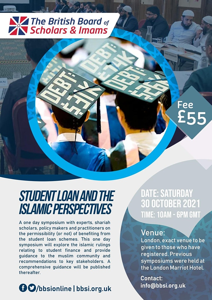 Student Loans & the Islamic Perspectives - The BBSI Symposium image