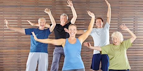StongerU Cardio with Emily Johnson | StrongerU Senior Fitness tickets