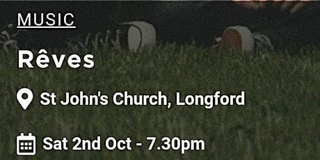 Laura Jo & Reves Joint Headline Music Event at St. John's Church Longford tickets
