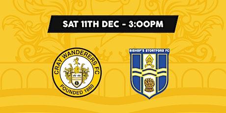 Cray Wanderers VS Bishops Stortford tickets