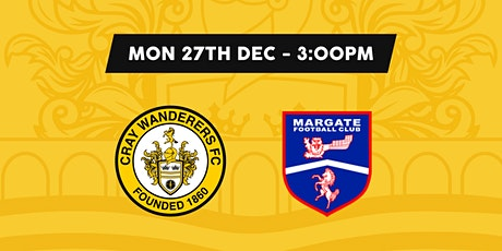 Cray Wanderers VS Margate tickets