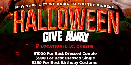 Halloween Costume Giveaway Party tickets