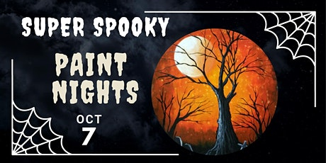 Super Spooky Halloween Paint Night tickets