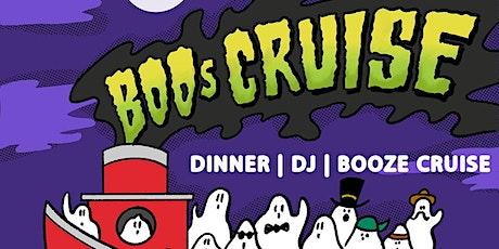 HALLOWEEN BOOZE DINNER AND BOOZE CRUISE tickets