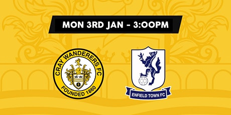 Cray Wanderers VS Enfield tickets