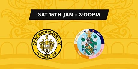 Cray Wanderers VS Corinthian Casuals tickets